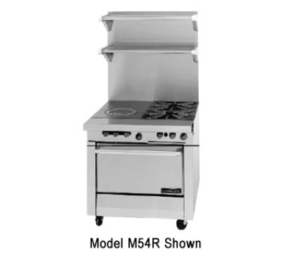 Garland M54R LP 34-in Range w/ 2-Burners & Front Fir