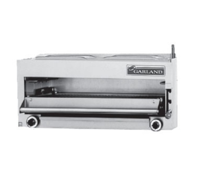 Garland MIR-34C NG 34-in Countertop Salamander Broiler w/ (2) 20,000-BTU Burners, NG