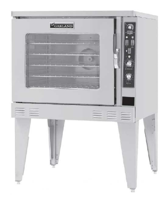 Garland MP-ES-10-D 2401 Standard Depth Oven w/ Single Deck & Deluxe Controls, 240/1 V
