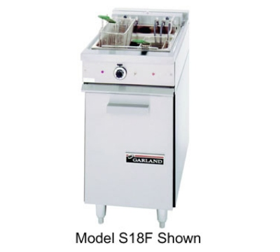 Garland S18SF 2403 30-lb Range Match Fryer w/ Thermostatic Controls, 16-kW, 240/3 V