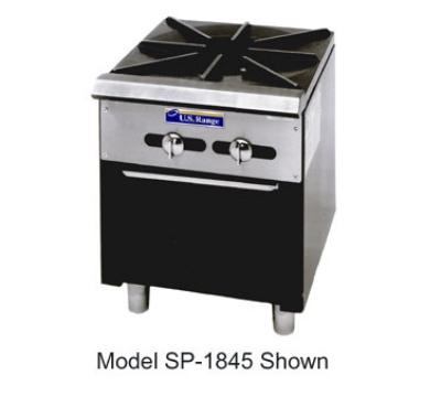 Garland SP-1844-2 LP Double Stock Pot Range w/2-Burners & Manual Controls, LP