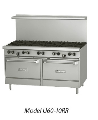 Garland U60-4G36RR 60 in U Series Restaurant Range 4 Burners Restaurant Supply