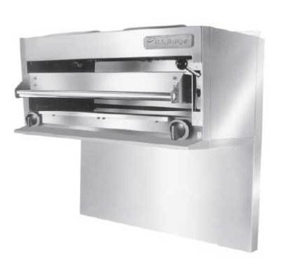 Garland UIR36 NG 36-in Salamander Broiler For 36-Restaurant Range, NG