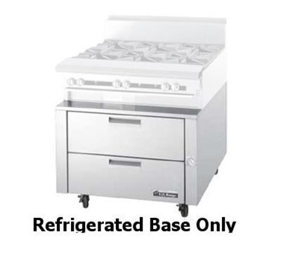 Garland UN17R114 114-in Refrigerated Base w/ (8) 27-in Drawers, Stainless Exterior
