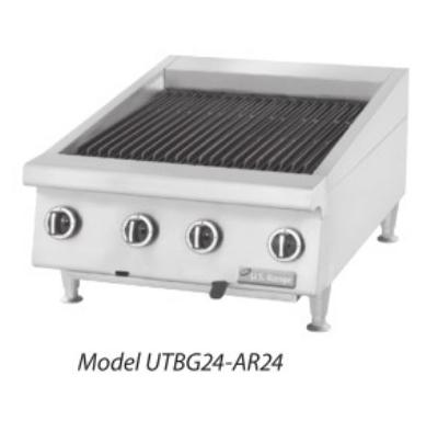 Garland / US Range UTBG60-NR60 NG 60 in Countertop Charbroiler Non-Adjustable Cast Iron Grates NG Restaurant Supply