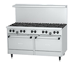 "Garland X60-10RR 60"" Sunfire 10-Burner Gas Range, NG"