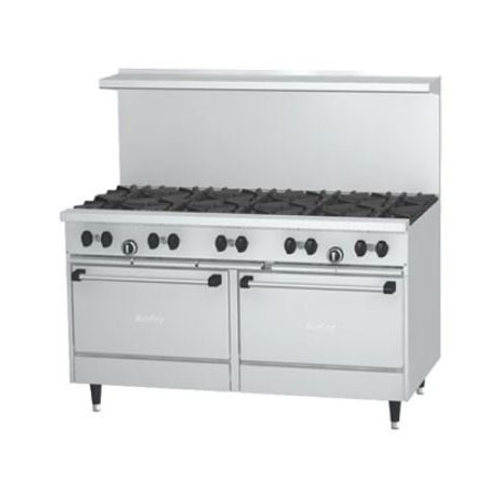 "Garland X60-10RS-LP 60"" Sunfire 10-Burner Gas Range, LP"