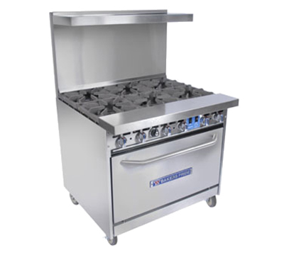 "Bakers Pride 36-BP-6B-C 36"" 6-Burner"