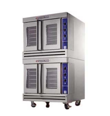 Bakers Pride BCOE2 Double Full Size Electric Convection Oven - 208v/3ph