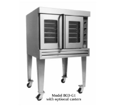 Bakers Pride BCOG1 LP Cyclone Convection Oven, Full Size, Rotary Controls, Single Deck, LP