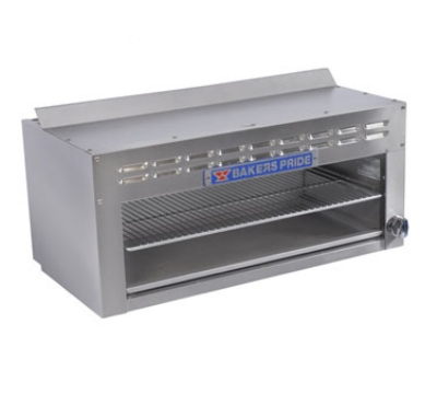"Bakers Pride BPCM-36 36"" Infrared Burner Gas Cheese Melter, LP"