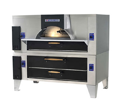 Bakers Pride FC-516 DS-805 NG Il Forno Classico Pizza Oven, Double Stacked