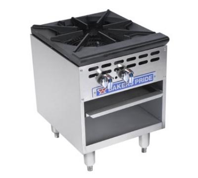 Bakers Pride BPSP-18-2 LP 1-Burner Stock Pot Range, LP