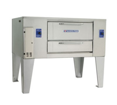 Bakers Pride D250 NG Single Multi Purpose Deck Oven, NG
