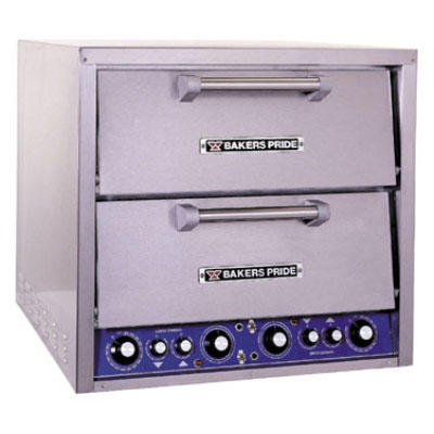 Bakers Pride DP2 Electric Double Deck Countertop Multi Purpose Oven, 208/3v