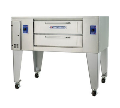 Bakers Pride DS805 NG Single Pizza Deck Oven, NG