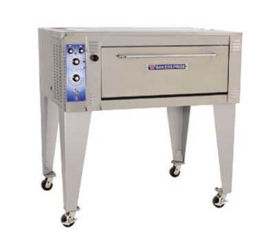 Bakers Pride EP283836 2081 Double Pizza Deck Oven, 208v/1
