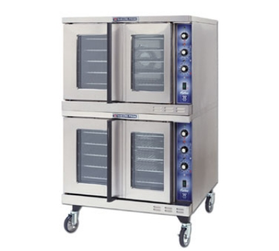 Bakers Pride GDCOE2 2083 Full Convection Oven w/ Rotary Control & Timer, Double, 208/3 V