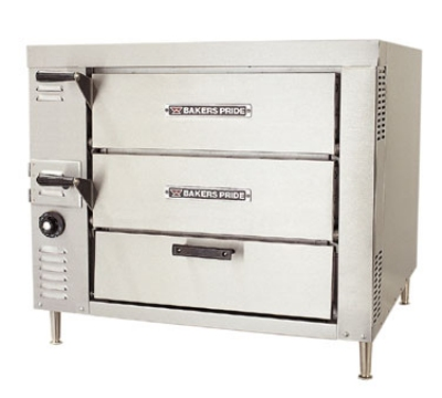 Bakers Pride GP61HP NG Countertop Pizza / Bake Oven, Double Compartment, 2 Decks Each, NG