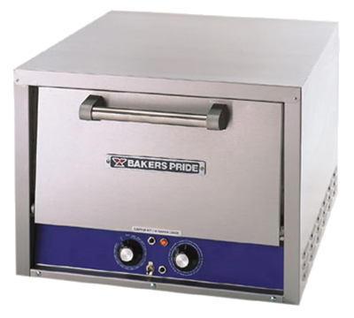 Bakers Pride P18S Electric Single Deck Countertop Pizza/Pretzel Oven, 120/1v