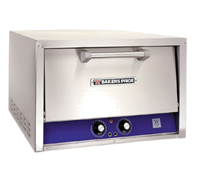 Bakers Pride P22S Electric Single Deck Countertop Pizza/Pretzel Oven, 220-240/1v