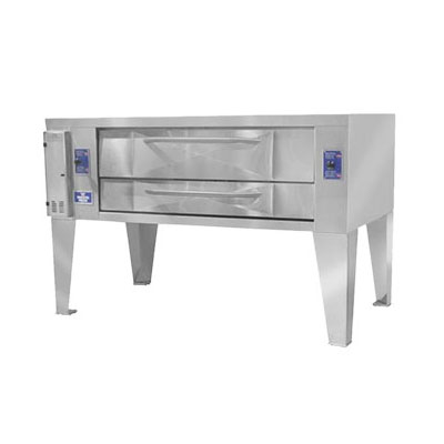Bakers Pride Y600BL NG Single Pizza Deck Oven, NG