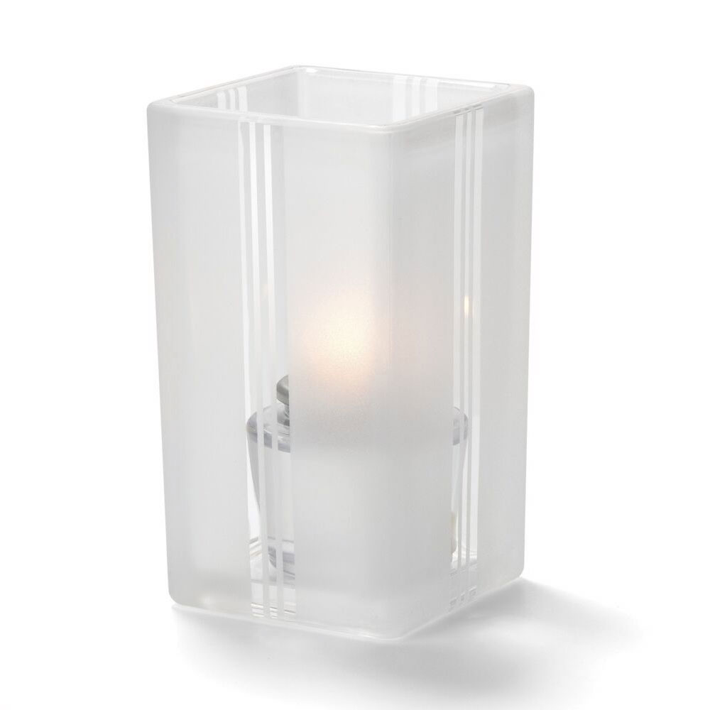 Hollowick 6179F Quad Votive Lamp For HD8 Or HD15, Clear Art Deco