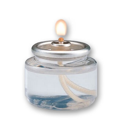Hollowick HD8180 Liquid Tealight Disposable Fuel Cell, 8 hr, Clear Plastic, 180/Case