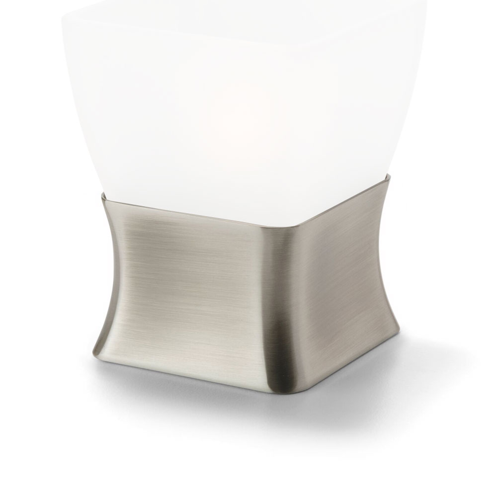 Hollowick OD29 Tealight / Votive Lamp Base, Metal, Odyssey, Satin Pe