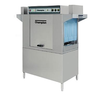 Champion 54DR Conveyor-Type Dishwasher w/ 54-in Tank & Splash Proof Mounted Controls