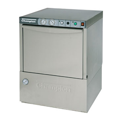 Champion UH-170 High Temperature Dishwasher w/ Analog Thermometer, 30-Racks in 60-min