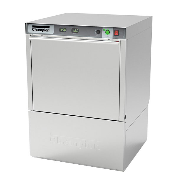 Champion UH-130B(70) Undercounter Dishwasher w/ High Temperature, 25-Racks/Hr, 208v