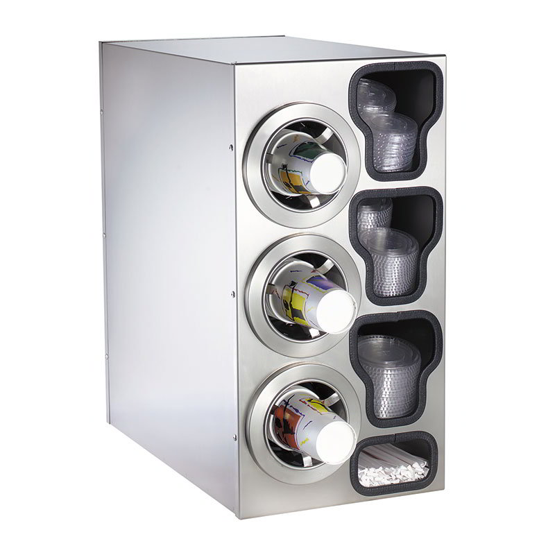 Dispense-Rite CTCC3LSS Cup Dispensing Ca