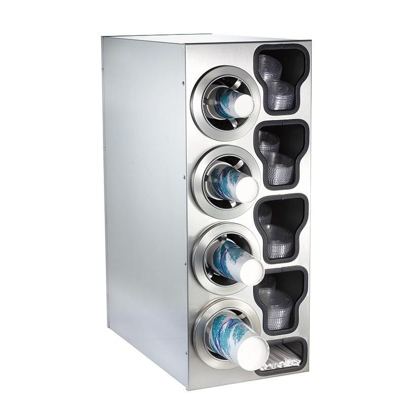 Dispense-Rite CTCC4LSS Cup Dispensing Cabinet