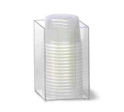 Dispense-Rite MLD2 Lid/Cup Organizer, 5 in