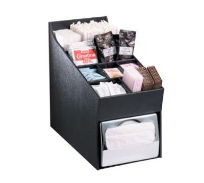 Dispense-Rite NLOADNH Napkin Dispenser & Condiment,