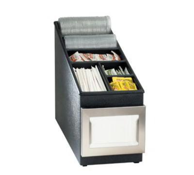 Dispense-Rite NSLC1BT Lid, Straw & Condiment Organizer, Poly w/ ABS