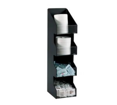 Dispense-Rite VCO4 Lid or Condiment Organizer, 4 S