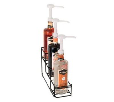 Dispense-Rite WRBOTL3 Bottle Organizer, Wire Rack, 3 Section, Reinforced Welde