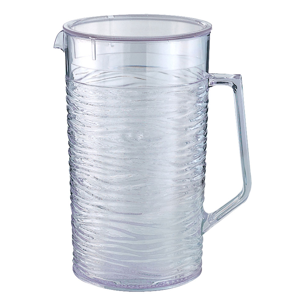 Service Ideas SI2LITCL 67.6-oz Pitcher w/ Lid, Horizontally Rai