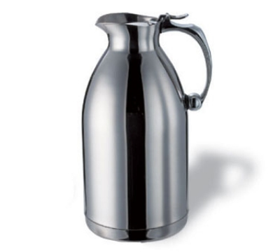 Service Ideas 55715 1.5-liter Pitcher w/ Unbreakable Liner, Stainless