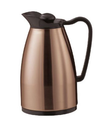 Service Ideas CGC060CP .6-liter Carafe w/ Dripless Spout, Glass Interior, C