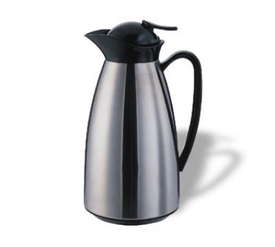 Service Ideas CJ10SS 1-liter Vacuum Carafe w/ Glass Liner, Br