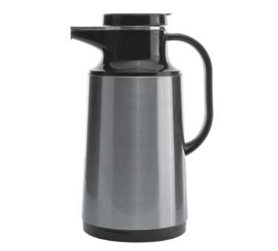 Service Ideas HPS101 1-liter Coffee Server w/ Stainless Shell, Brushed Sta