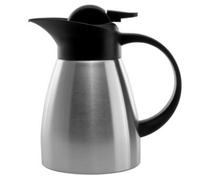 Service Ideas KVP67 .6-liter Stainless Touch Coffee S