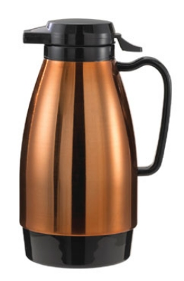 Service Ideas ML101MCPBL 1-liter Coffee Server w/ Push Butt