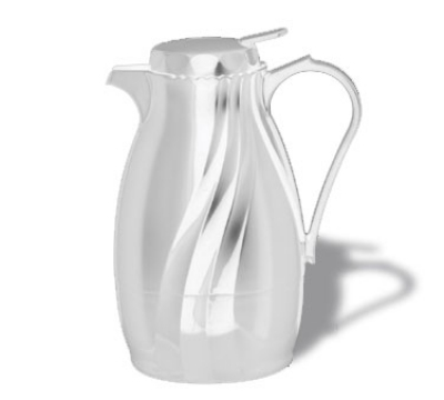 Service Ideas TNSPB20WH .6-liter Twist & Serv Coffee Server w/ Push Button