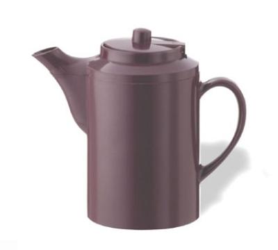 Service Ideas TS612BU 16-oz Dripless Teapot w/ Baffled Spout, Self-Locking Lid, Burgundy