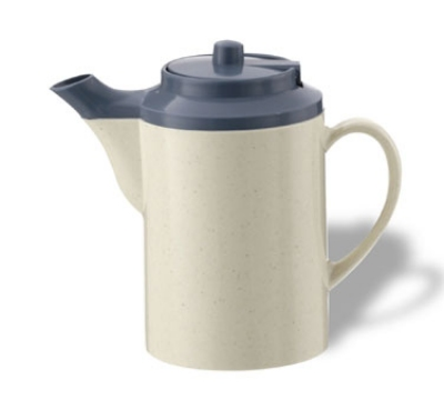 Service Ideas TS612ST/COB 16-oz Dripless Teapot w/ Baffled Spout, S