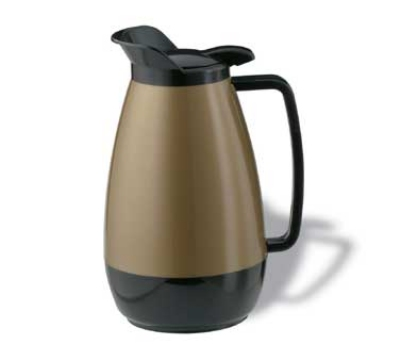 Service Ideas TS501KB .6-liter Coffee Server w/ Flip Top, Smooth Body, G
